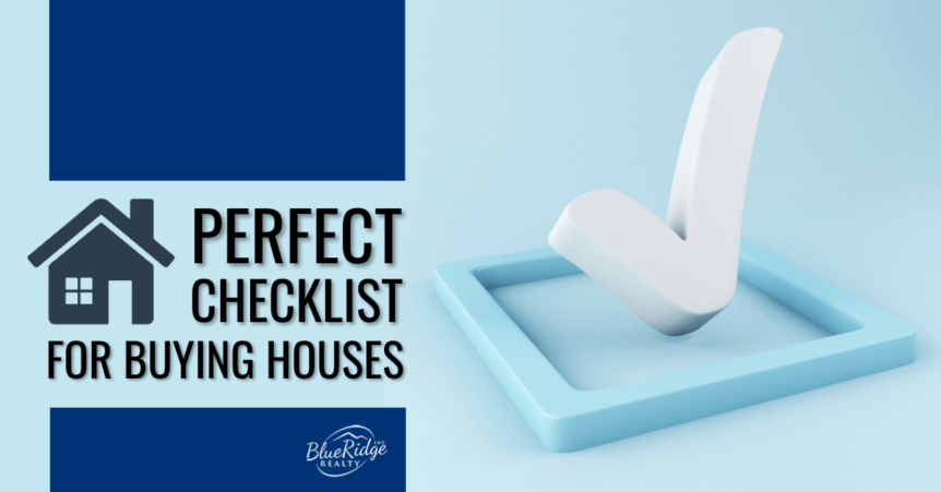 Checklist before Buying Property